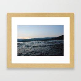 Adrift, Hello  Framed Art Print