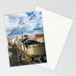 Coffee in Portugal Stationery Cards