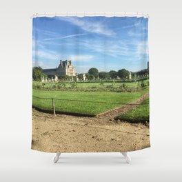 Paris, France - Tuileries Shower Curtain