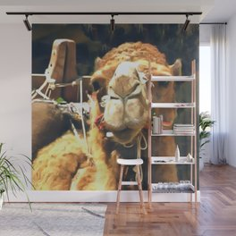 Middle Eastern Camel Wall Mural
