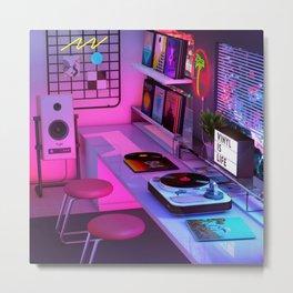 Vinyl is Life Metal Print