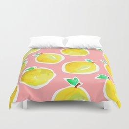 Lemon Crush 2 Duvet Cover