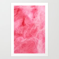 Cotton Candy - for iphone Art Print