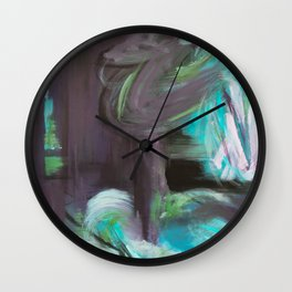 August Warmth Wall Clock