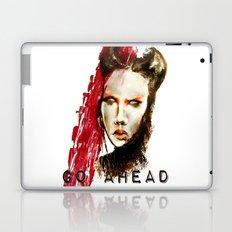 Go ahead Laptop & iPad Skin