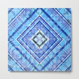 Abstract geometric Metal Print