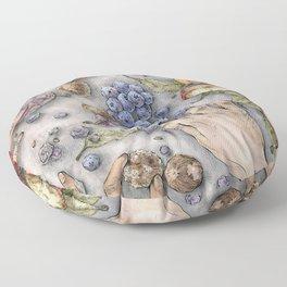 The Feast Floor Pillow