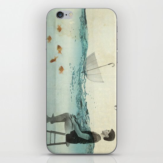 never one when you need one iPhone & iPod Skin