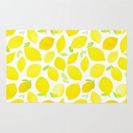 Beautiful Lemon Pattern Rug
