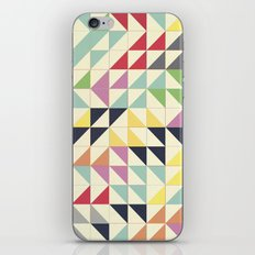 Triangles and Squares III iPhone & iPod Skin