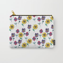 sassy floral Carry-All Pouch
