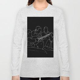 Wes and Duke jam session Long Sleeve T-shirt