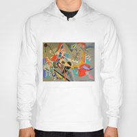 kandinsky Hoodies featuring Kandinsky Composition Study by Andrew Sherman