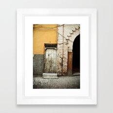 Entrez... Framed Art Print