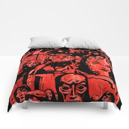 Eyes Wide Shut #1 Comforters