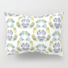 Budgie Kaleidoscope  Pillow Sham