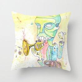 Jazzercise Throw Pillow