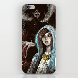 A Cautionary Tale for Young Deities iPhone Skin
