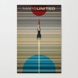 MarsUnited Liftoff Canvas Print