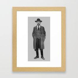 The Inspector Framed Art Print