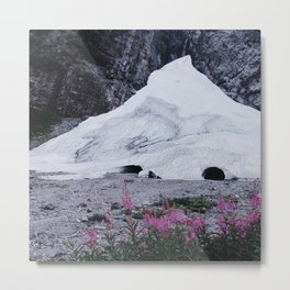 Big Four Ice Caves Metal Print