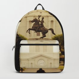 New Orleans Looking Through Jackson Square Backpack