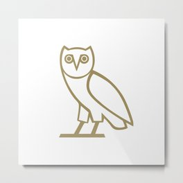 ovoxo new owl gold brand 2018 Metal Print