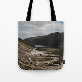 Hiking the Wicklow Mountains Tote Bag