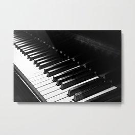 Piano 2 Metal Print