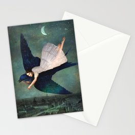 fly me to paris Stationery Cards