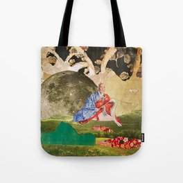 Peace by the Light of the Moon Tote Bag