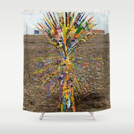 Palm o2a Shower Curtain