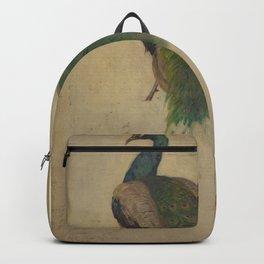 Peacock Sketch Backpack