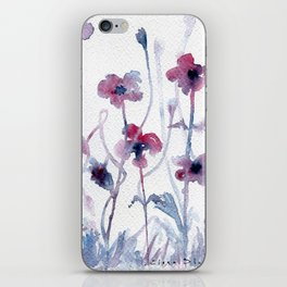 Floral #3 iPhone Skin