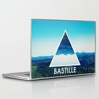bastille Laptop & iPad Skins featuring BASTILLE by Hands in the Sky