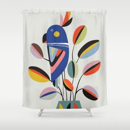 Rubberplant Shower Curtain