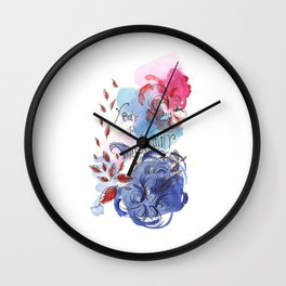 Year full of possibility Wall Clock