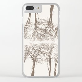 Trees 2 Clear iPhone Case