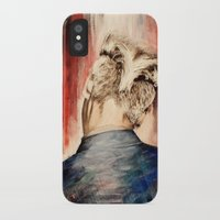 kpop iPhone & iPod Cases featuring shadow at evening rising by Jordana Clarke