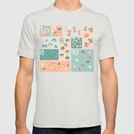 Woodland counting T-shirt