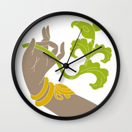 Hand of Indian Dance Wall Clock