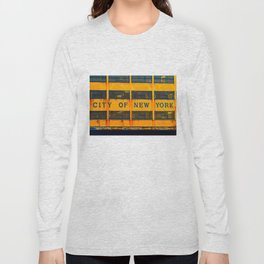 City of New York (Ferry) Long Sleeve T-shirt