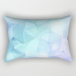 Winter Flowers Rectangular Pillow