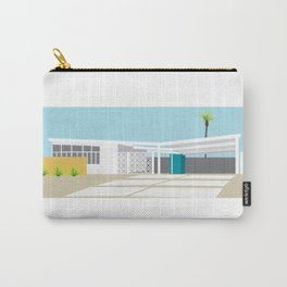 mid-century modern house four Carry-All Pouch