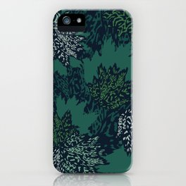 Fall Animal Instinct Floral iPhone Case