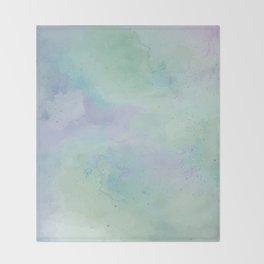 Lacuna Watercolour Sky Throw Blanket