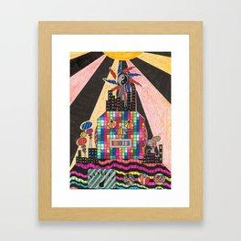 Dekotora Robot Framed Art Print