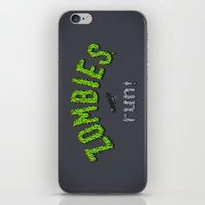 ZOMBIES, run! iPhone & iPod Skin