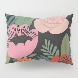 Floral Guache Pillow Sham