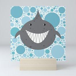 I Ain't Afraid of No Shark Mini Art Print